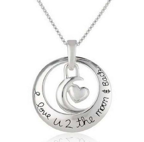 I Love You to the Moon and Back Necklace - Shopy Bay