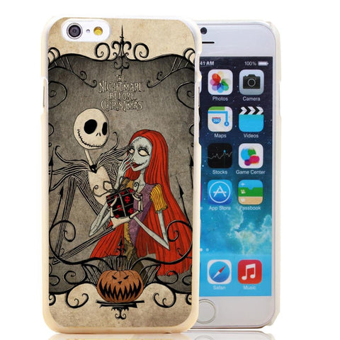 jack Skellington Nightmare Before Christmas Case for iPhone