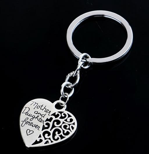 Love Between Mother and Daughter Keychain - Shopy Bay