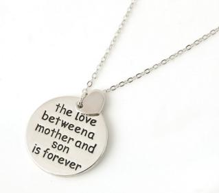 Love Between Mother And Son Necklace - Shopy Bay