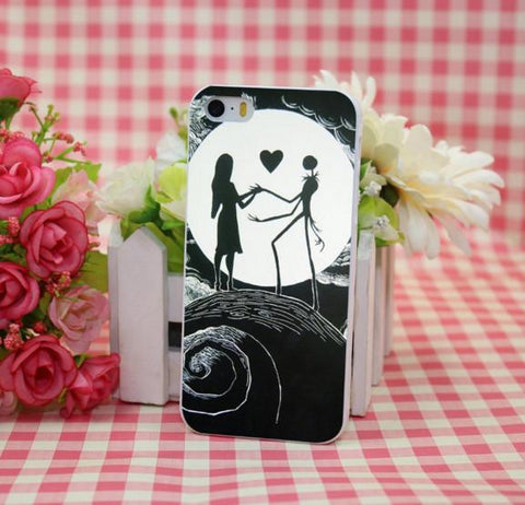 "Nightmare Before Christmas ""Love"" Galaxy Case"