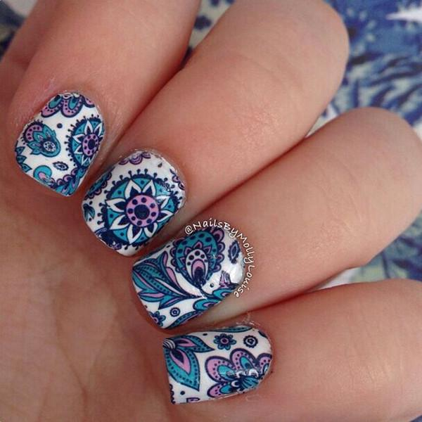 Blooming Flowers Water Transfer Nail Art (Price Include Shipping) - Shopy Bay