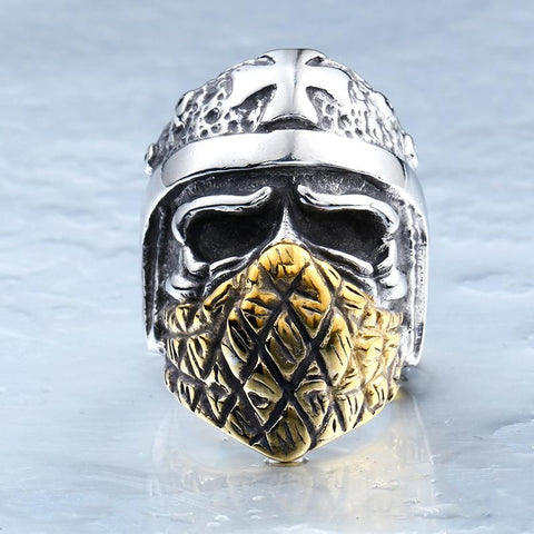 Ancient Soldier Biker Ring (Size 7-13)