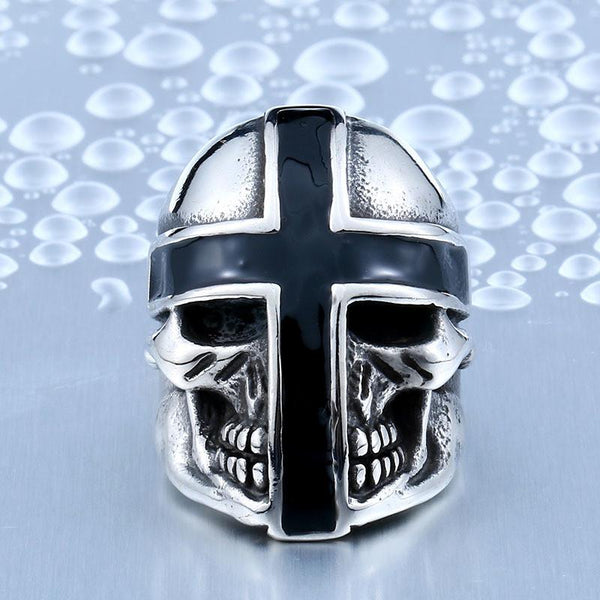 Cross Armor Biker Ring (Size 7-13) - Shopy Bay