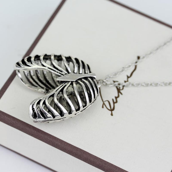Hard Rib Cage Necklace
