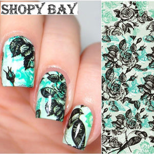 Natures Best Water Transfer Nail Art (Price Include Shipping) - Shopy Bay