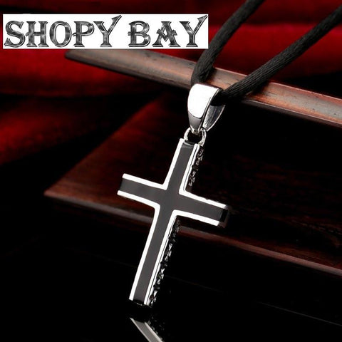 925 Sterling Silver classical Cross Pendant