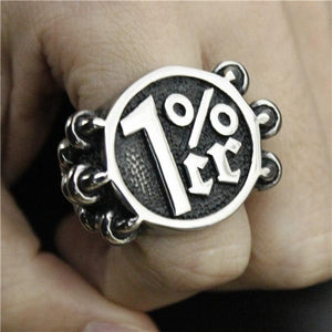 Dragon Claw Catches 1% Biker Ring (size 8-14)