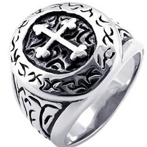 Cross Assassin Biker Ring (size 7-15) - Shopy Bay