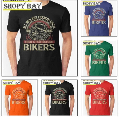 Bikers Summer T-Shirt - Shopy Bay