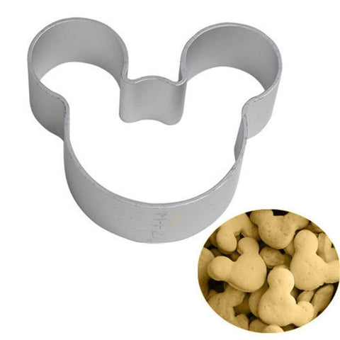 3 PCS Mickey Mouse Shaped Cookie Molder - Shopy Bay
