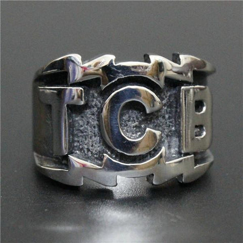 TCB Biker Ring (size 8-13) - Shopy Bay