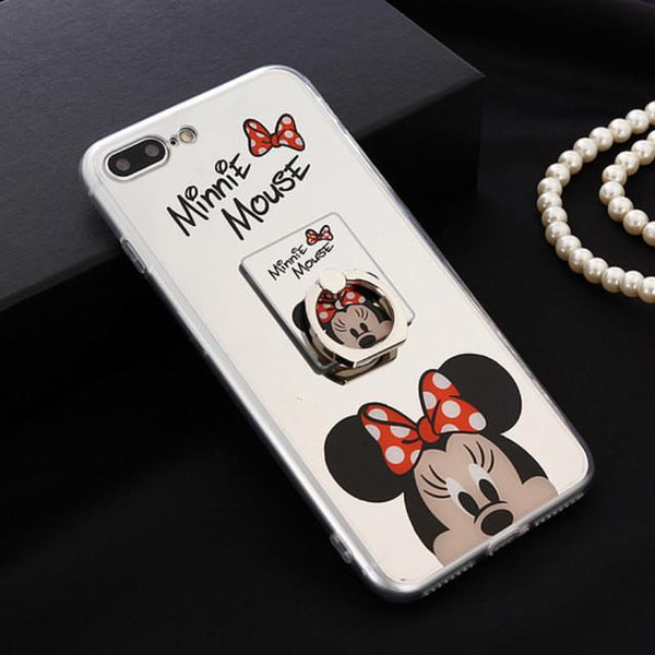 Mickey & Minnie Mouse Ring iPhone Case - Shopy Bay