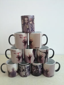 Walking Dead - Magical heat changing color mugs - Shopy Bay
