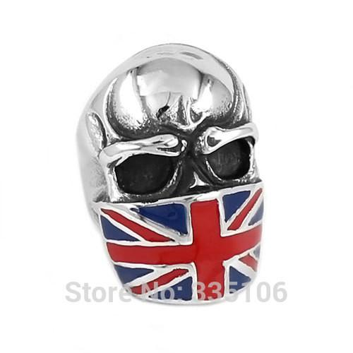 UK  Skull Biker Ring (size 7-15) - Shopy Bay
