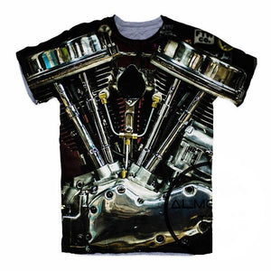 Harley Engine Hipster T-Shirt - Shopy Bay