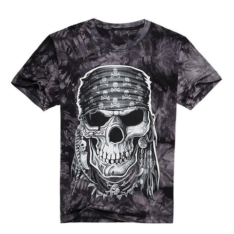 Rock'n'Roll Skull T-Shirt - Shopy Bay