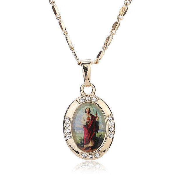 Christian Jesus And More Necklace - Shopy Bay