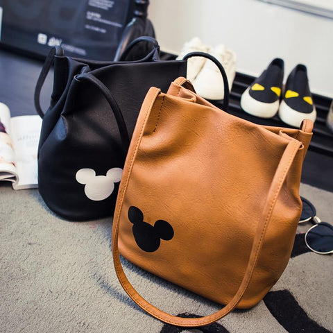 Beautiful PU Leather (Reminds Mickey) Bag - Shopy Bay