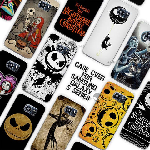 Nightmare Before Christmas Awesome Galaxy Case