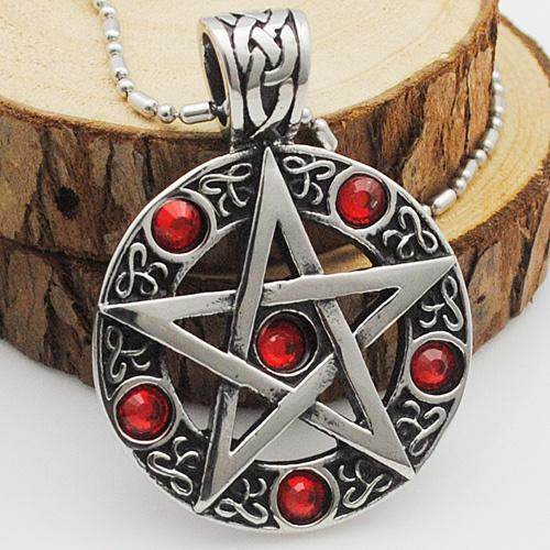 5 Ruby & A Star Necklace