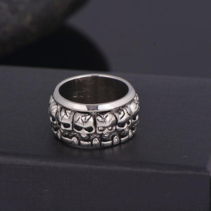 Skulls Unlimited Biker Ring (size 8-13) - Shopy Bay