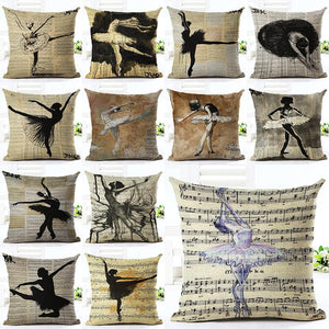 Ballet Pillow Case - Shopy Bay