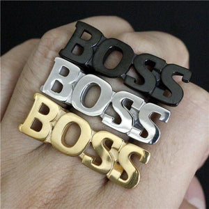 Big BOSS Biker Ring (size 7-13)