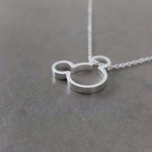 Stainless Mickey Womens Necklace - Shopy Bay