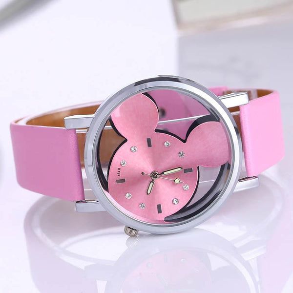 6 Colors Vintage Mickey Women Watch - Shopy Bay