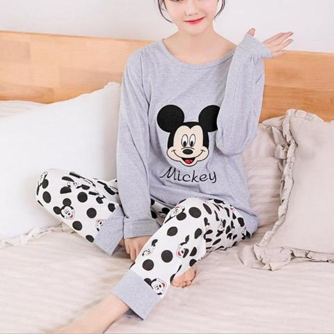 Lovely in Gray Matching Pajama
