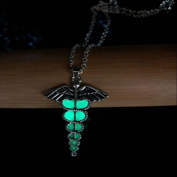 Luminous Goth Necklace