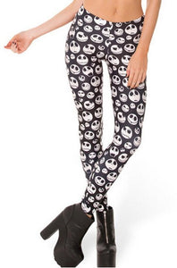 Jack Skellington Slim tights Women Pants - Shopy Bay