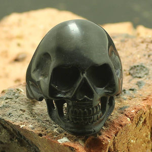 Dark Hard Headed Skull (size 6-16)