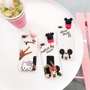 3D Cartoon Fanatic Galaxy Case