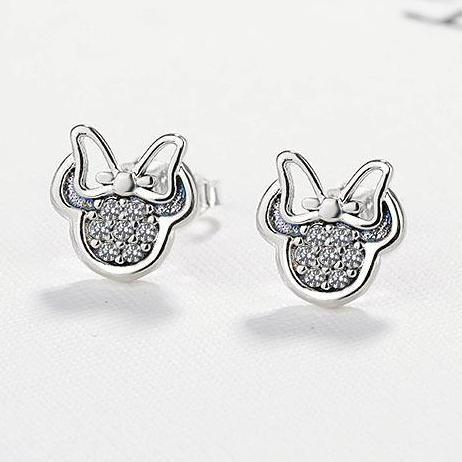 Feminine Crystal Earrings