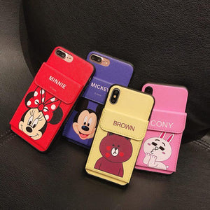 2 in 1 Wallet iPhone Case