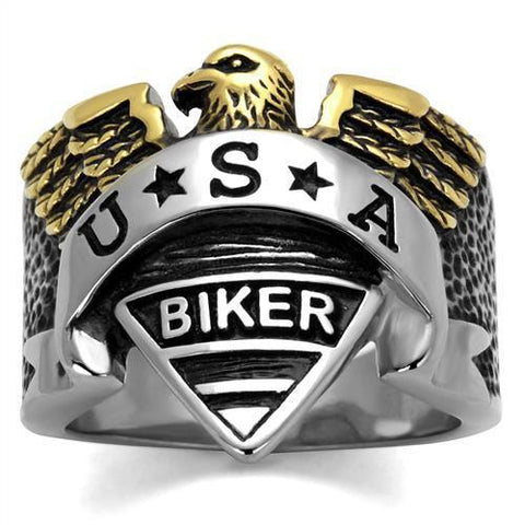 American Eagle Biker Ring (Size 8-13)