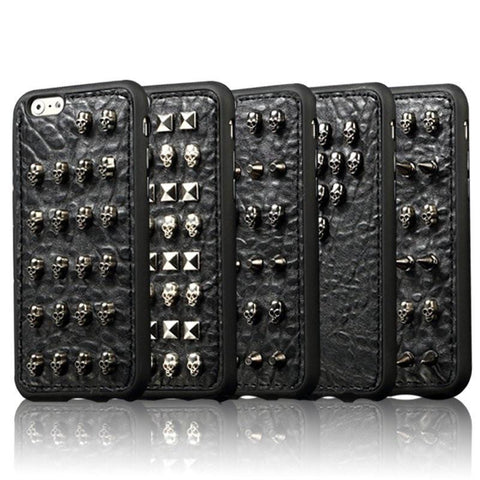 Wild Spiked Studs iPhone Case