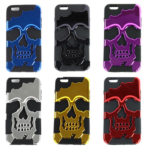 Hybrid Rubber Punk iPhone 6 Plus Case