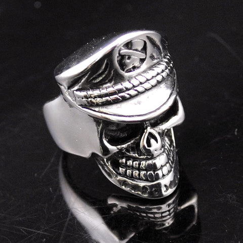 General Skull Biker Rings (size 7-13) - Shopy Bay