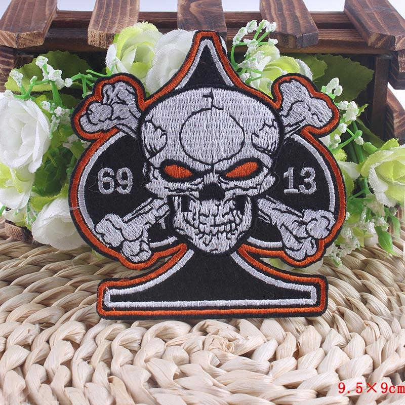 Poker Skull Patch - Shopy Bay
