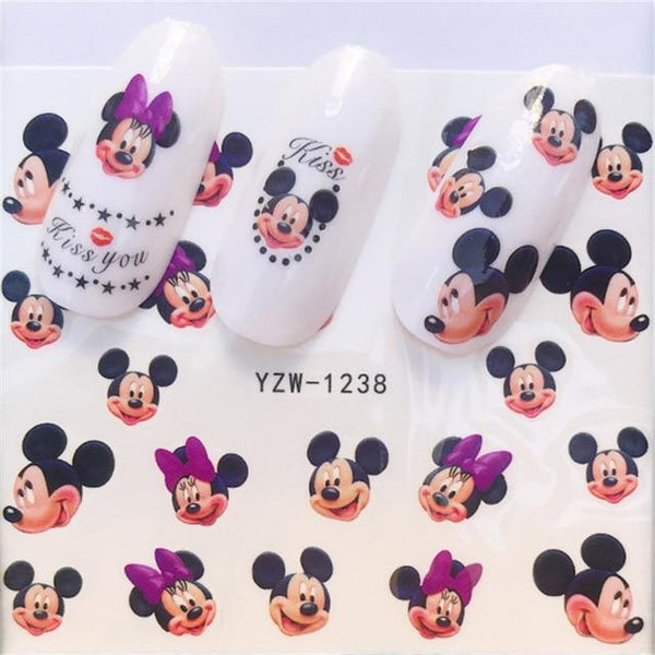 Water Decals Nail Stickers