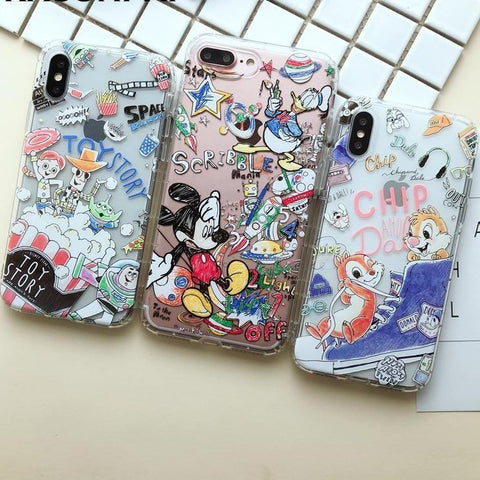 Assorted Soft Cute iPhone Case