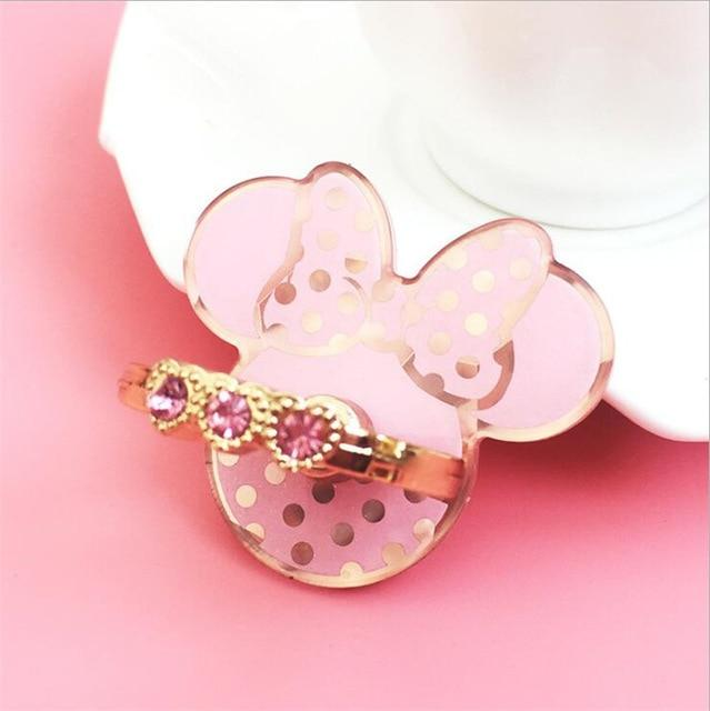 Gold & Pink Cute Phone Ring