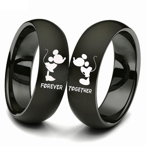 Forever Together Black Ring