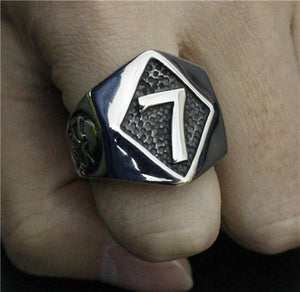 Lucky 7 Biker Ring (size 8-13) - Shopy Bay