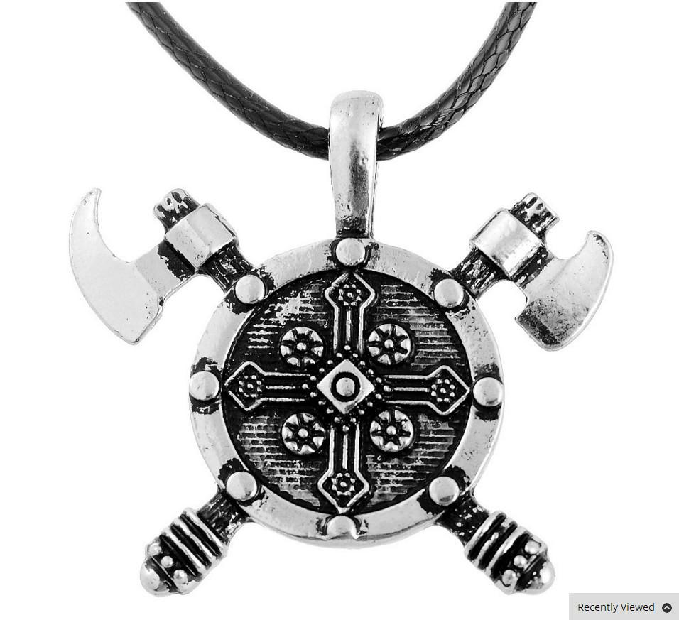 Norse Viking Barbarian Gladiator Necklace - Shopy Bay