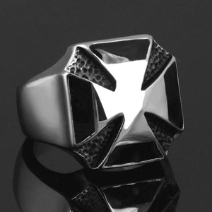 World War II Iron Cross Biker Ring (size 7-13) - Shopy Bay