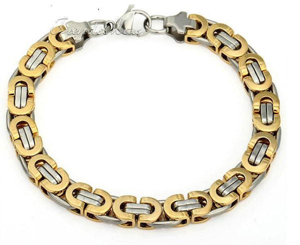 Stainless Steel Link Chain Bracelets - Shopy Bay